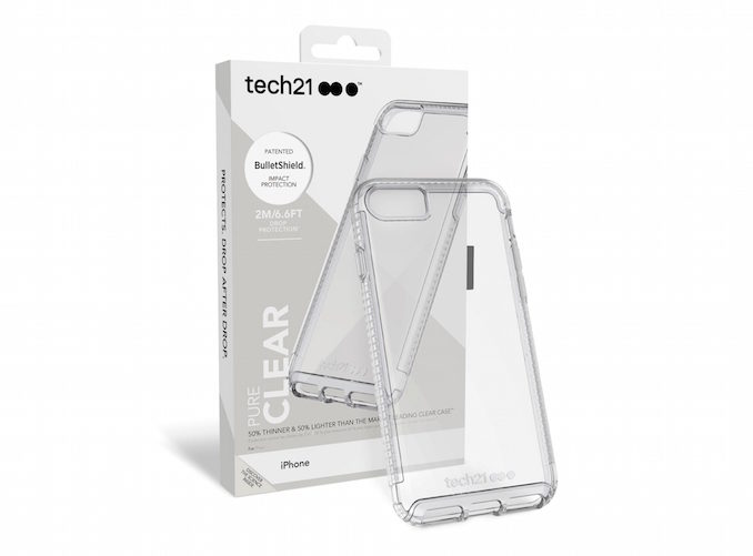 Tech21 Pure CLear iphone 7 8