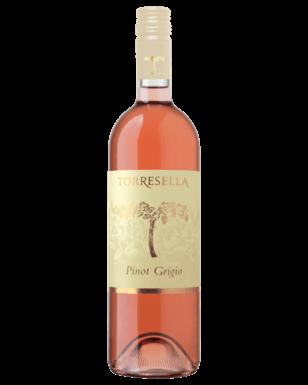 Toresella pinot grigio rose wine