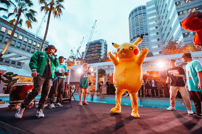 ivy Pool Club Sydney Tony Tokyo rooftop bar THE F pikachu