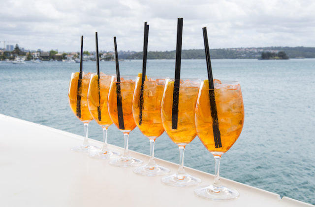 Aperol Spritz Catalina Rose Bay Sydney 1