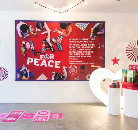 Body Shop Play Peace