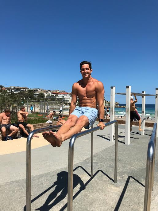 Drew Harrisberg Fitbit Ionic gym