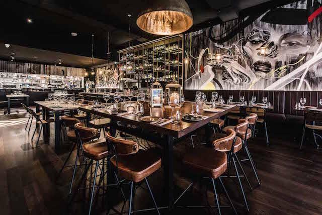 Eastside Kitchen Bar Chippendale dining room