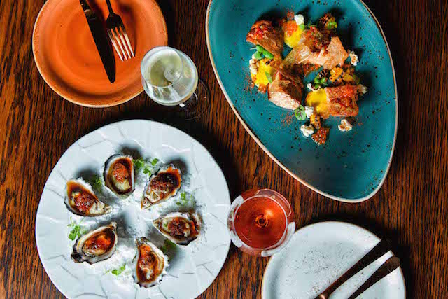 Eastside Kitchen Bar Chippendale oysters chicken