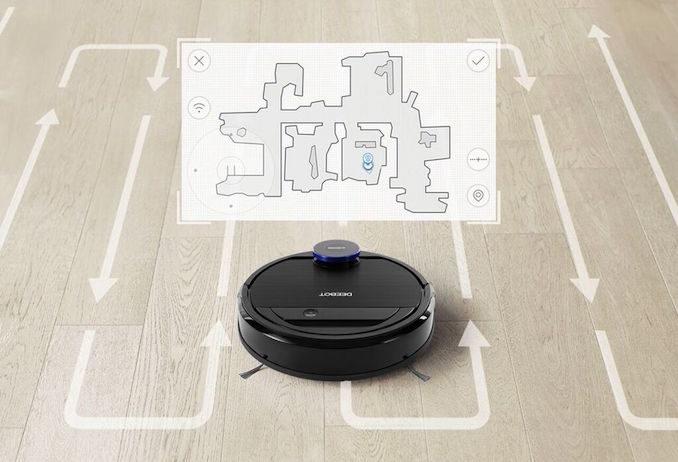Ecovacs Ozmo 930 robot vacuum map