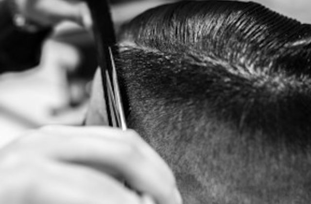 Grooming mens haircut