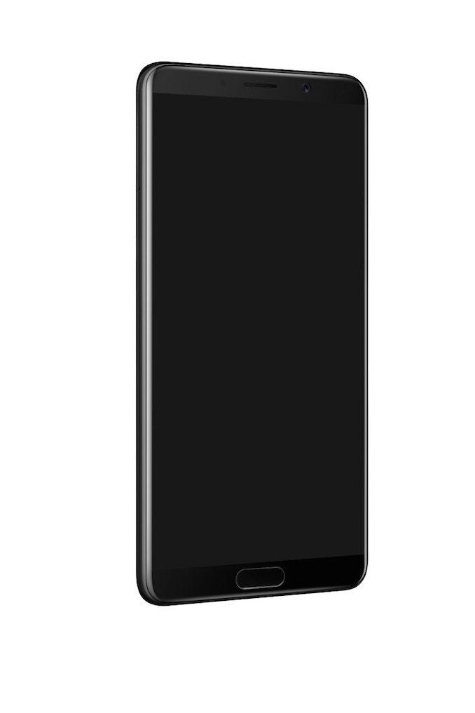 Huawei Mate 10 mobile handset angle