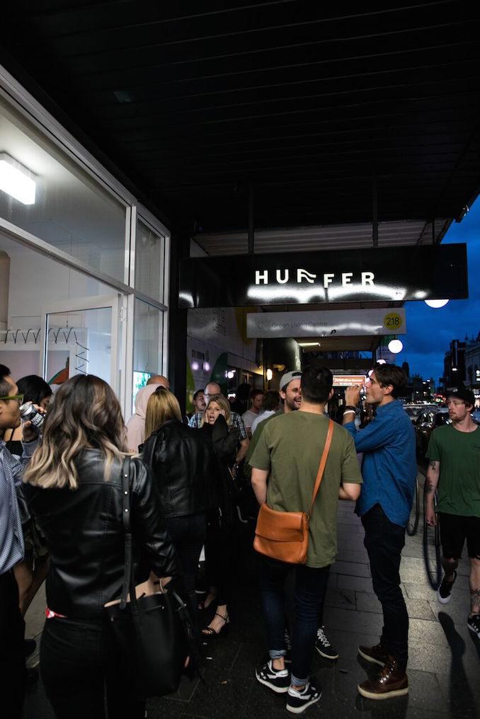 Huffer Sydney party 2