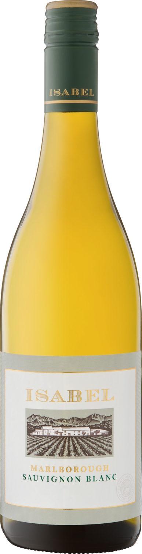 Isabel Marlborough Sauvignon Blanc RRP $29.00 available from Dan Murphys and BWS-min