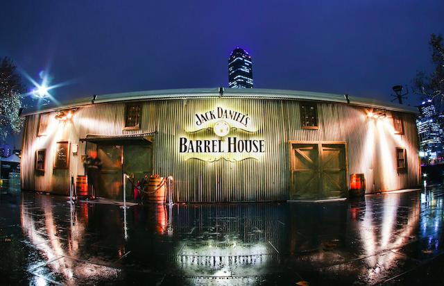 Jack Daniels Barrel House exterior