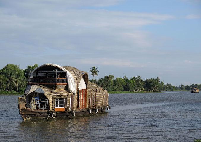 Kerala Backwaters India Contiki houseboat