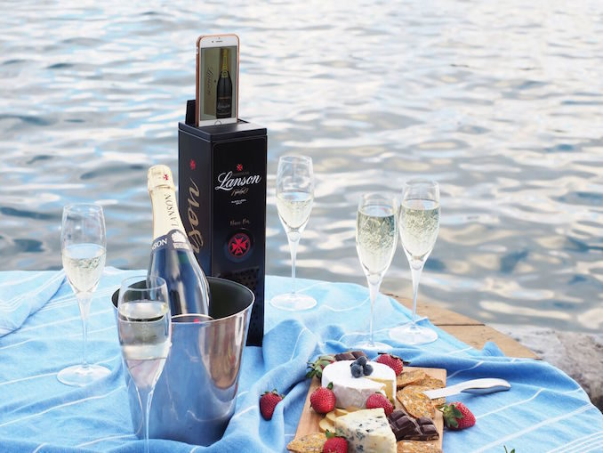 Lanson Champagne limited Music Box RRP $49.99 available at Dan Murphys