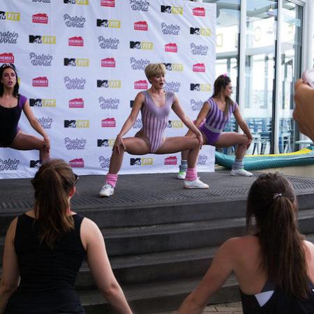 MTV Fit Chemist Warehouse fitness