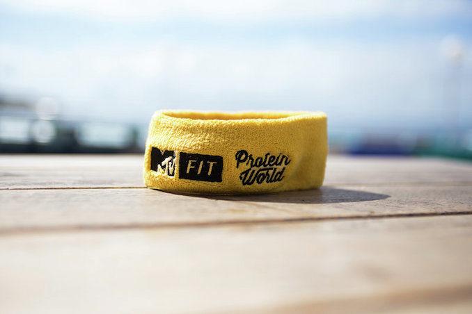 MTV Fit Chemist Warehouse protein world headband
