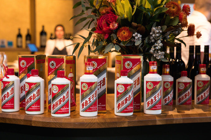Moutai Enter the dragon cocktail competition