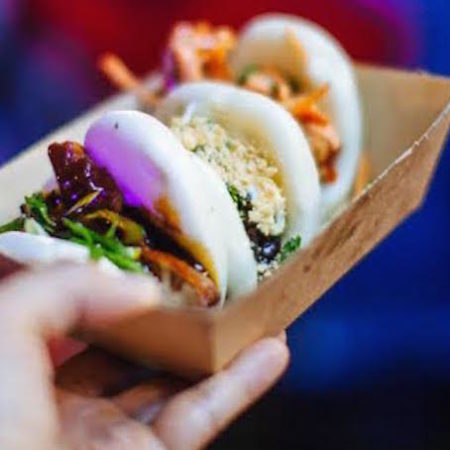 Night Noodle Markets Melbourne bao