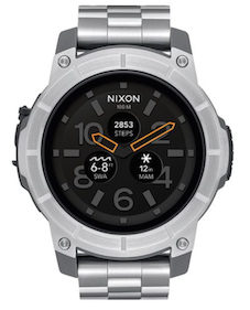 Nixon Mission SS smart watch silver