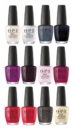OPI Christmas range pack