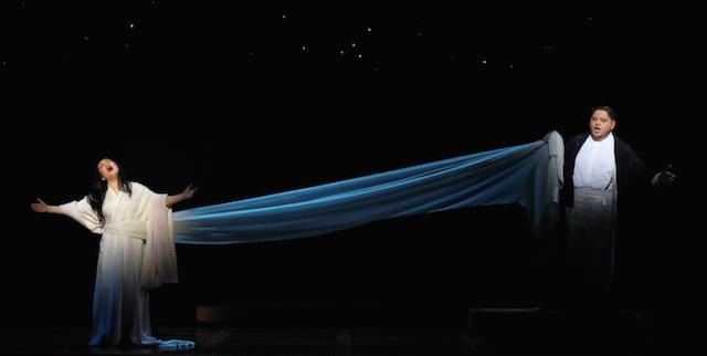 Opera Australia Madama Butterfly Capitol Theatre Sydney Moon dance