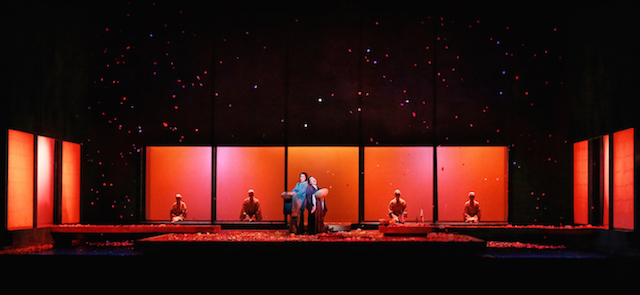 Opera Australia Madama Butterfly Capitol Theatre Sydney whle set