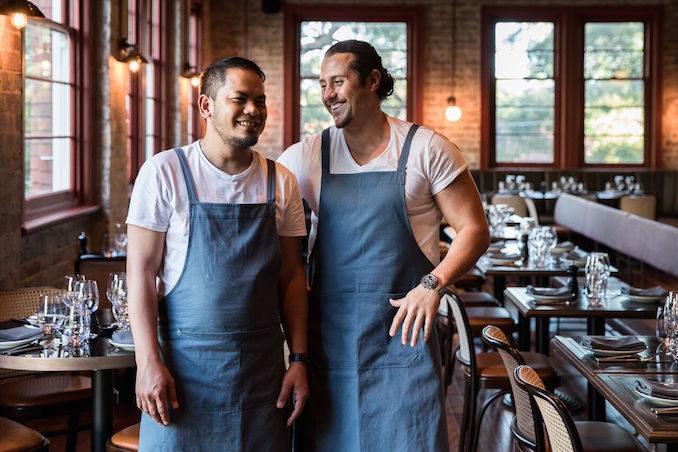 Stanton Co Rosebery restaurant chefs