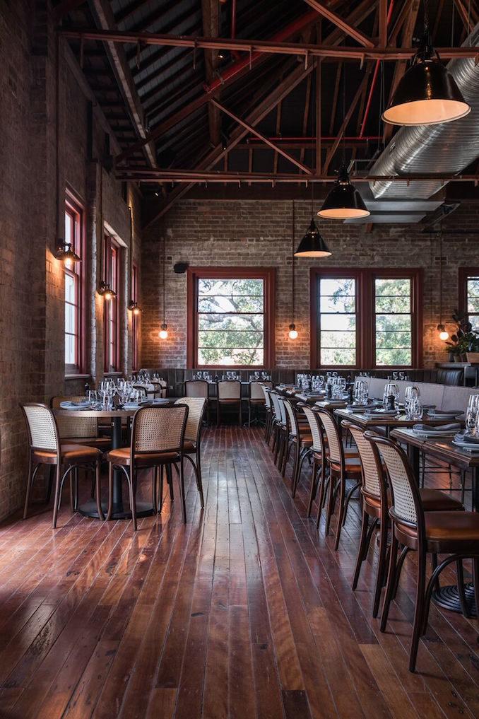 Stanton Co Rosebery restaurant dining room