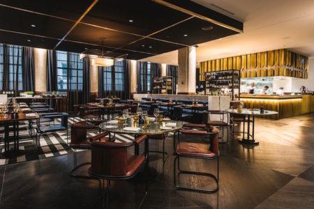 The Wilmot Primus Hotel Sydney restaurant tables