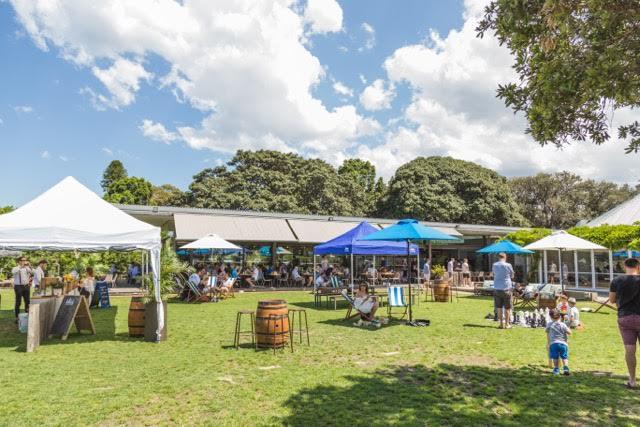 Trippas White Group Centennial Park Baracca BBQ Sydney lawn 2