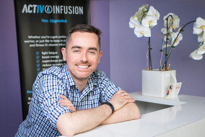 ActIV Infusion Max Petro founder