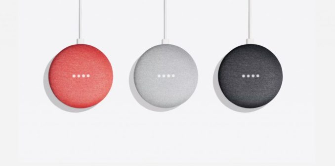 Amaysim Google Home Mini three colours