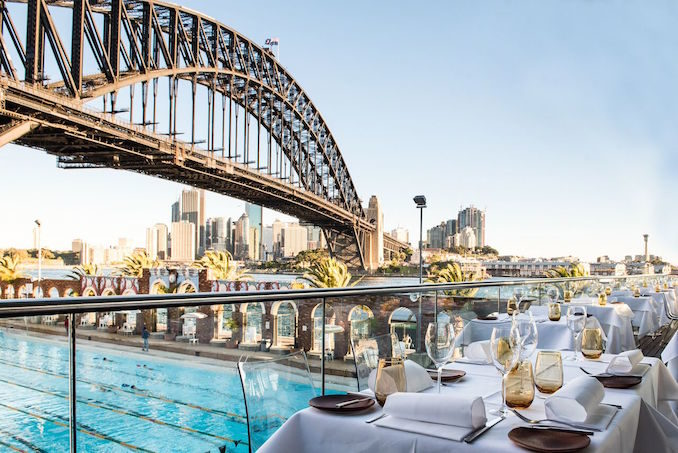 Aqua Dining Sydney Harbour