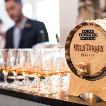 Campari Wild Turkey Bourbon Masterclass drink alcohol barrel