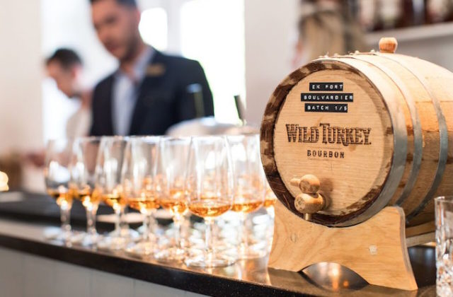 Campari Wild Turkey Bourbon Masterclass drink alcohol barrel
