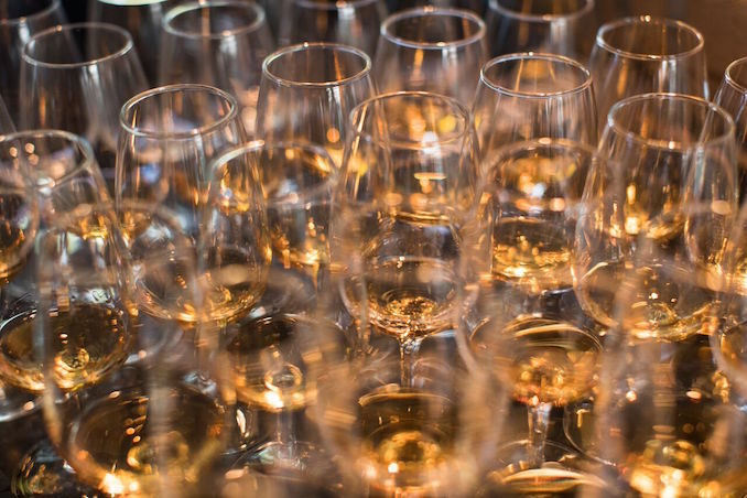 Campari Wild Turkey Bourbon Masterclass drink alcohol glasses