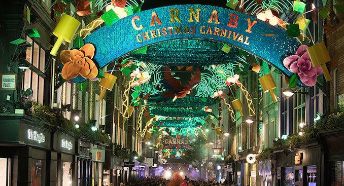 Carnaby Christmas London