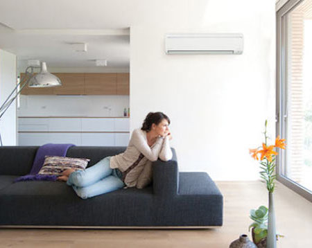 Keep home cool interior