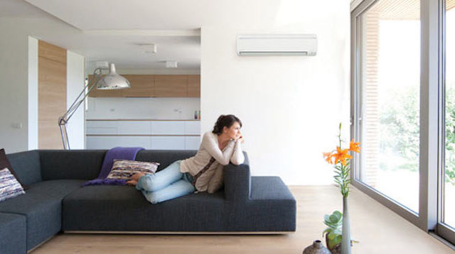 Keep home cool interior