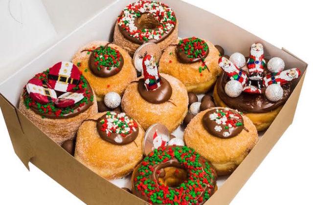 My Sweet Box Christmas doughtnuts 1