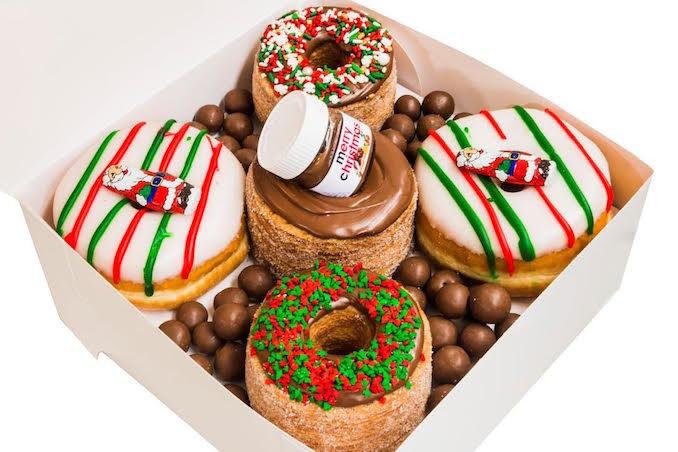 My Sweet Box Christmas doughtnuts2