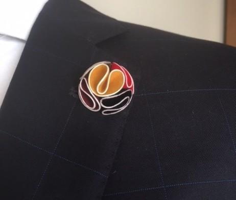 Pocket chief lapel pin