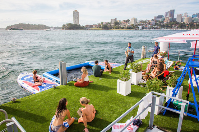 Pier One harbour pool pop up