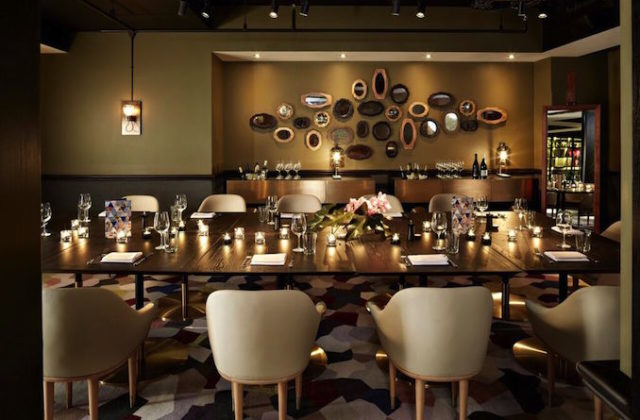 QT Hotel Sydney Gowings private dining room