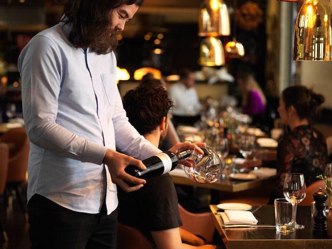 QT Hotel Sydney Gowings wine