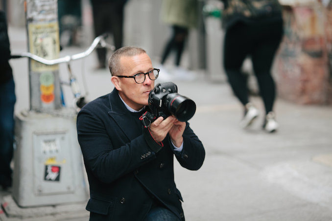 Scott Schuman Sartorialist photographer
