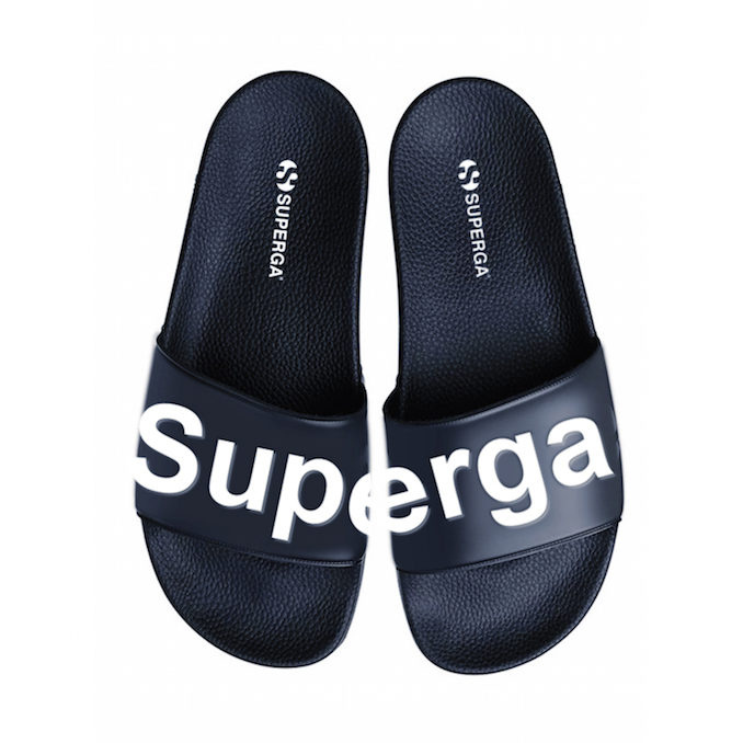 Superga Slides black