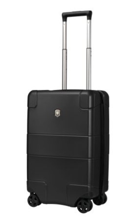 Victorinox Lexicon Hardside Frequent Flyer carry on suitcase luggage handle