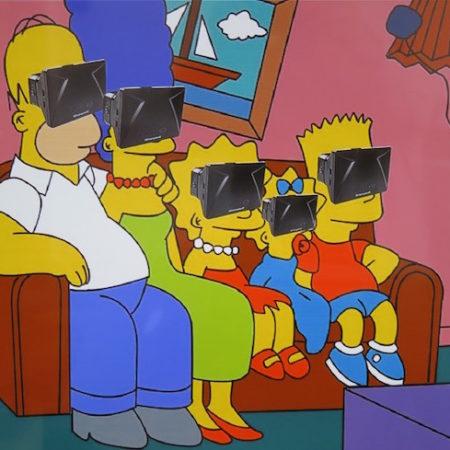 Virtual reality Simpsons