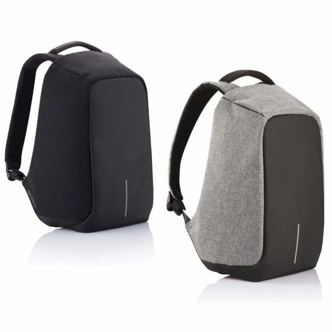 Bobby anti theft backpack XD Design black grey