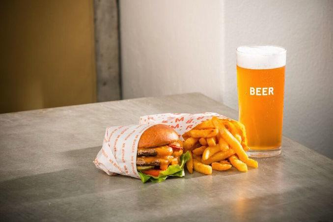 Burger beer 2