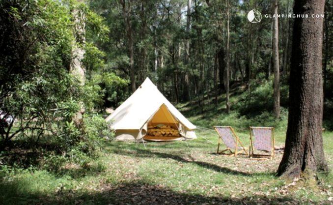 Glamping Hub Kingswood bell tent
